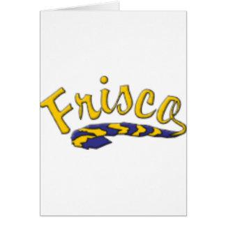 Friscoの高等学校の尾 カード