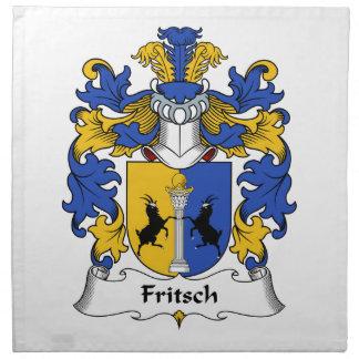Fritschの家紋 ナプキンクロス