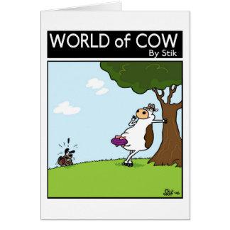 Frizbee牛 カード