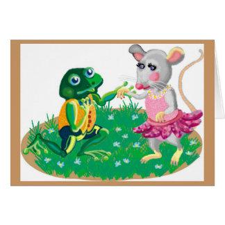 Frog氏は懇願することを行きました カード