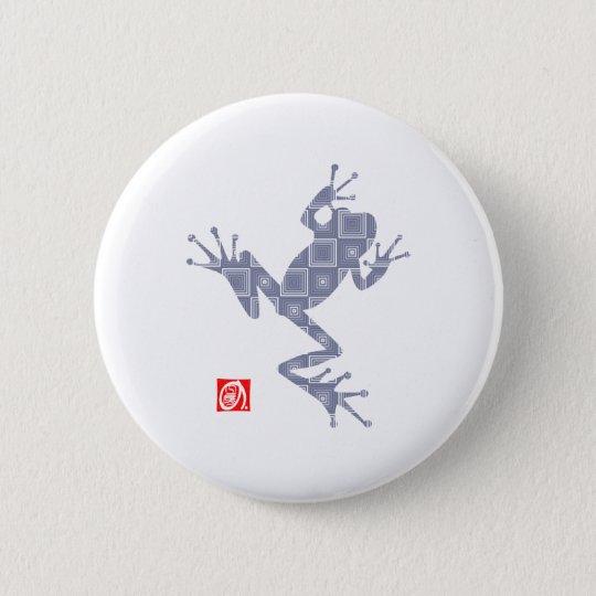 frog5 5.7cm 丸型バッジ