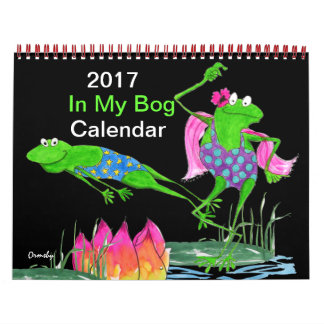 Froggyのカレンダー2017年 カレンダー