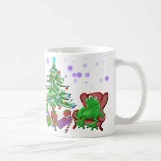 froggyのクリスマス コーヒーマグカップ