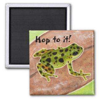 """froggyのメモの磁石は""""それ""""に飛びます マグネット"""