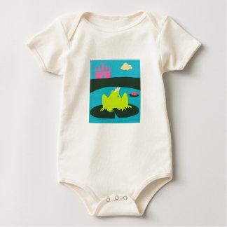 Froggyの王子 ベビーボディスーツ