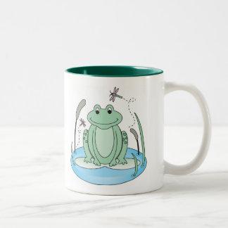 Froggyの眩惑 ツートーンマグカップ