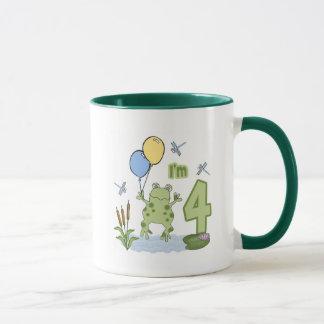 Froggyの第4誕生日 マグカップ