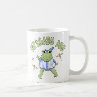 Froggyの誕生日の男の子 コーヒーマグカップ