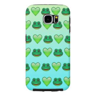 FroggyのEmojiの場合 Samsung Galaxy S6 ケース