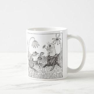 FroggyはA-Courtin行きました コーヒーマグカップ