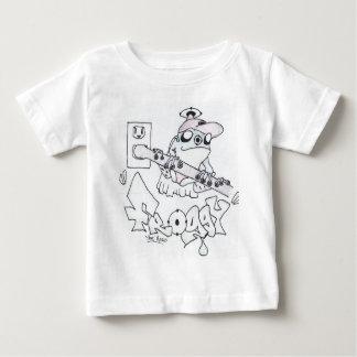 Froggy英雄 ベビーTシャツ