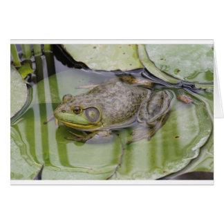 Froggy カード