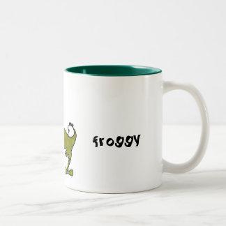 froggy、 ツートーンマグカップ