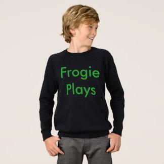 Frogieはスエットシャツを遊びます スウェットシャツ