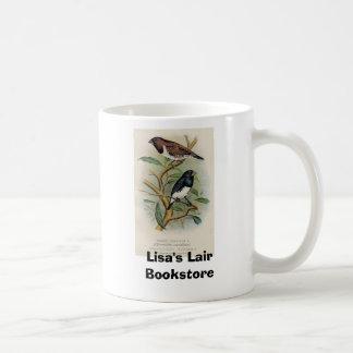 Frohawk -青銅色のMannikin及び2色のMannikin コーヒーマグカップ