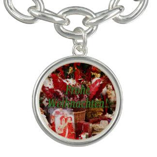 Frohe Weihnachten! ドイツのgfのメリークリスマス チャームブレスレット