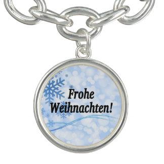 Frohe Weihnachten! ドイツbfのメリークリスマス チャームブレスレット