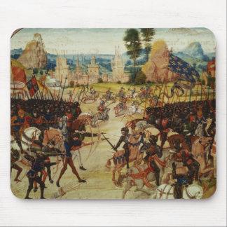 Froissartの記録からのポアティエの戦い、 マウスパッド