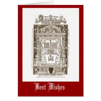 Frontispiece、ベニス1412年 カード