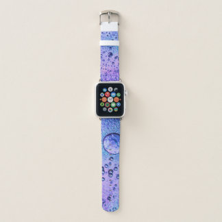 Frozen ice background with pink and blue colours apple watchバンド
