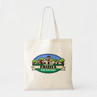 Fruitaコロラド州のいなか町のエコバッグ トートバッグ