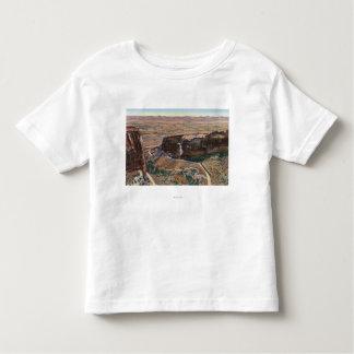 Fruita渓谷及び記念碑の縁ドライブ トドラーTシャツ