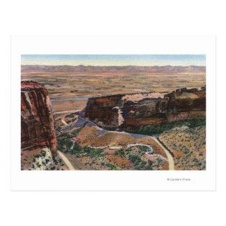 Fruita渓谷及び記念碑の縁ドライブ ポストカード