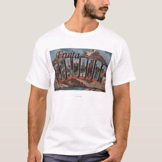Fruita、コロラド州-大きい手紙場面 Tシャツ