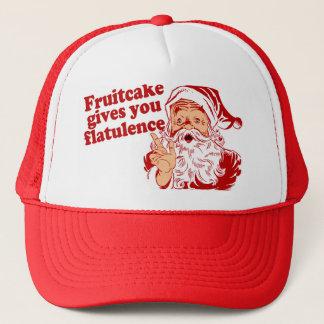 Fruitcakeは鼓腸を与えます キャップ
