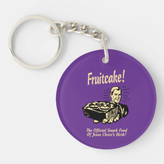 Fruitcake! イエス・キリストの誕生のスナック キーホルダー