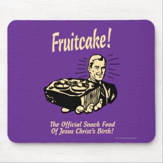 Fruitcake! イエス・キリストの誕生のスナック マウスパッド