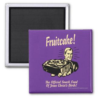 Fruitcake! イエス・キリストの誕生のスナック マグネット