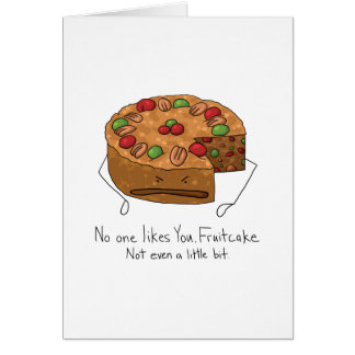Fruitcake -誰も好みません カード