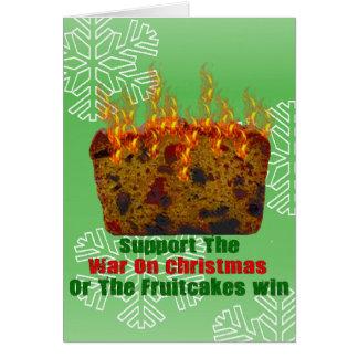 Fruitcakesの戦争 カード