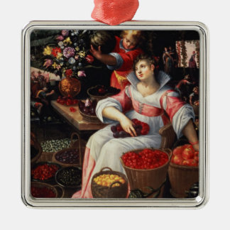 Fruitmarket 1590年 メタルオーナメント
