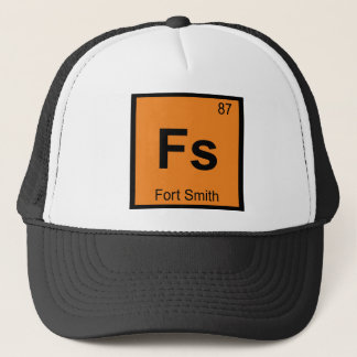Fs - Fort Smith都市化学周期表 キャップ