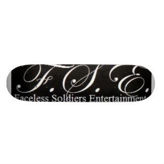 FSE (ロゴ) (黒) スケートボード
