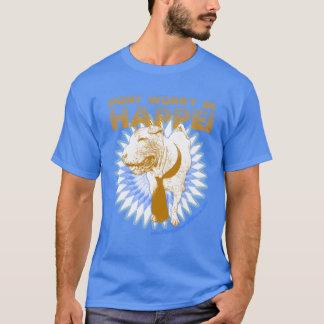 FSPRのTシャツはHappeiの青です Tシャツ