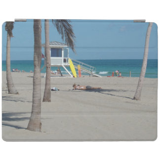 Ft Lauderdaleフロリダのライフガードの立場 iPadスマートカバー