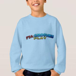 FTA及びSMOOVIESの演劇のロゴの男の子のスエットシャツ スウェットシャツ