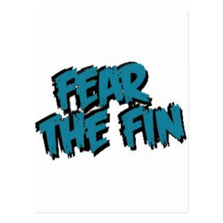 FTFのティール(緑がかった色) ポストカード