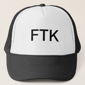 FTKのトラック運転手の帽子 キャップ