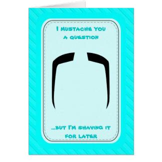 Fuの満州人の髭 カード