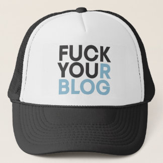 FuckYourBlog キャップ