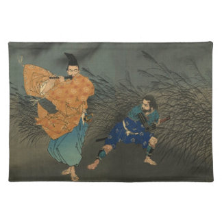 Fujiwaraは月光によってYasumasaフルートを演奏しません ランチョンマット