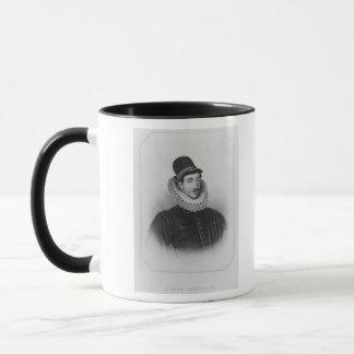 Fulke Grevilleの第1男爵のBrookeポートレート マグカップ