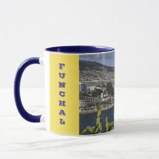 Funchal Madeira Panoramic Cup マグカップ