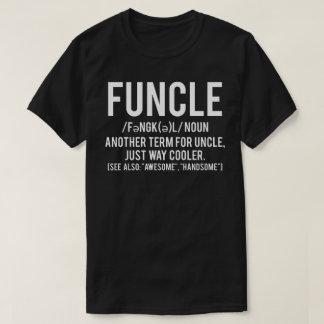 funcleのTシャツ-おもしろいな叔父さんのパパの父のティー Tシャツ