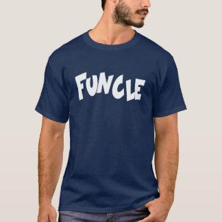 FUNCLE: おもしろいの叔父さん Tシャツ