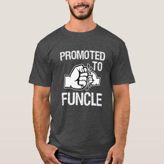Funcle T-shirtおもしろいなメンズ叔父さんに促進される Tシャツ
